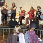 Ceilidh band at Off the Page